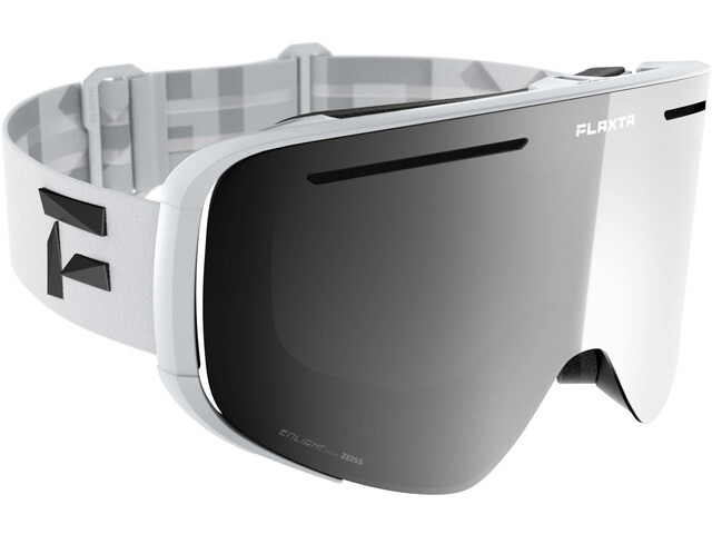 Flaxta Plenty Goggles, white-silver mirror